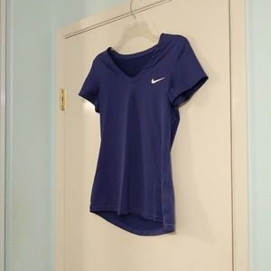 Nike Tops - Nike Purple Fitted Athletic Tee Shirt